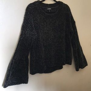 Forest green Chenille sweater